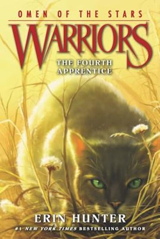 Erin Hunter - Warriors: Omen of the Stars #1: The Fourth Apprentice, Paperback -