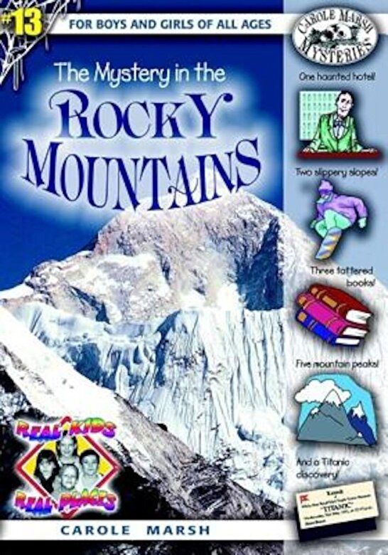 Carole Marsh - The Mystery in the Rocky Mountains, Paperback -
