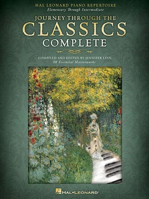 Jennifer Linn - Journey Through the Classics Complete: Hal Leonard Piano Repertoire: Elementary Through Intermediate, Paperback -