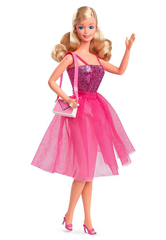 Barbie - Papusa Barbie - Tinuta reversibila Day to Night -
