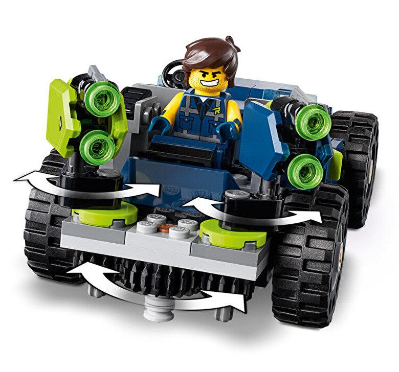 LEGO - LEGO Movie 2, Masina de teren rextrema a lui Rex! 70826 -