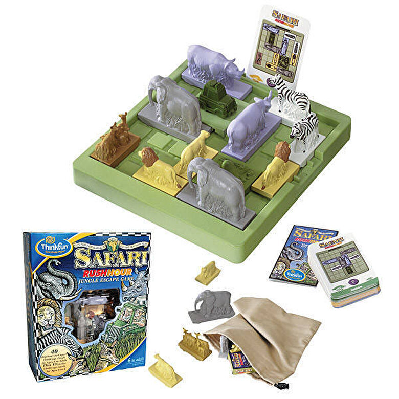 Thinkfun - Joc Rush Hour - Safari -