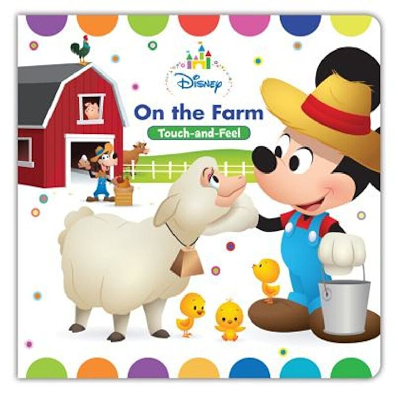 Disney Book Group - Disney Baby on the Farm, Hardcover -