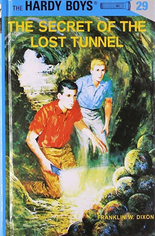 Franklin W. Dixon - Hardy Boys 29: The Secret of the Lost Tunnel, Hardcover -