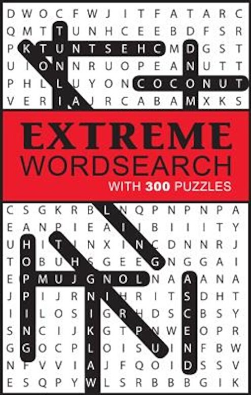 Parragon Books Ltd - Extreme Word Search: With 300 Puzzles, Paperback -