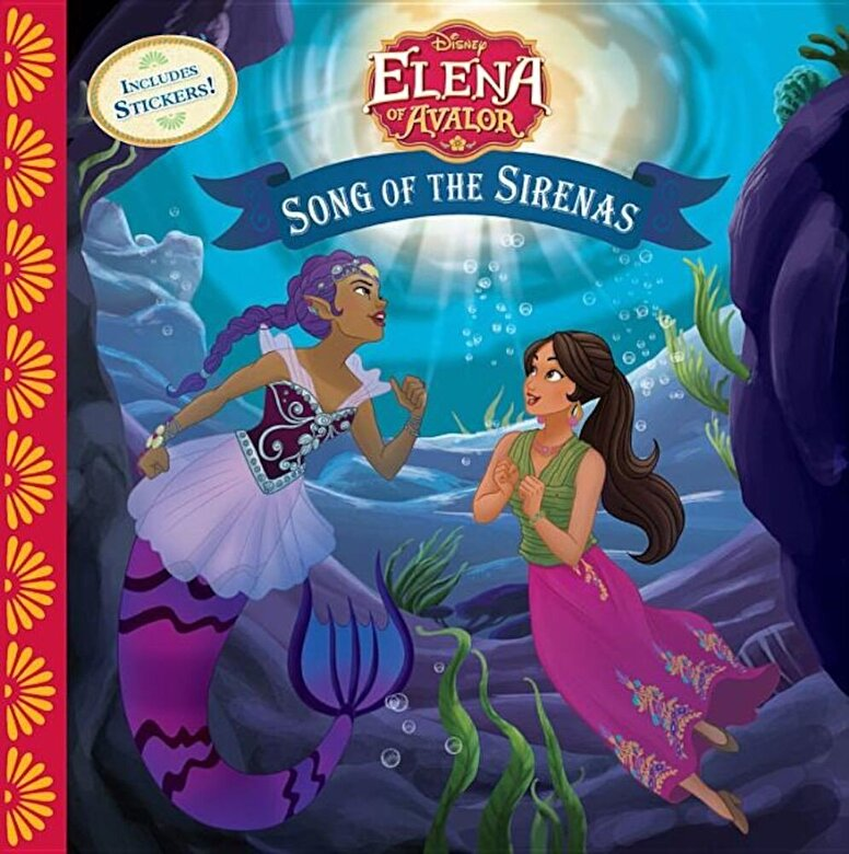 Disney Book Group - Elena of Avalor Song of the Sirenas, Paperback -