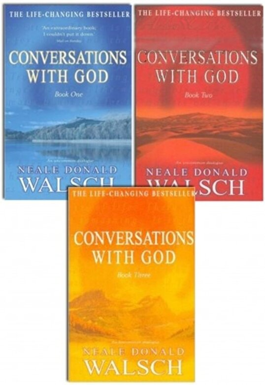 Neale Donald Walsch - Neale Donald Walsch Conversations with God Trilogy 3 Books Set Brand New PB -