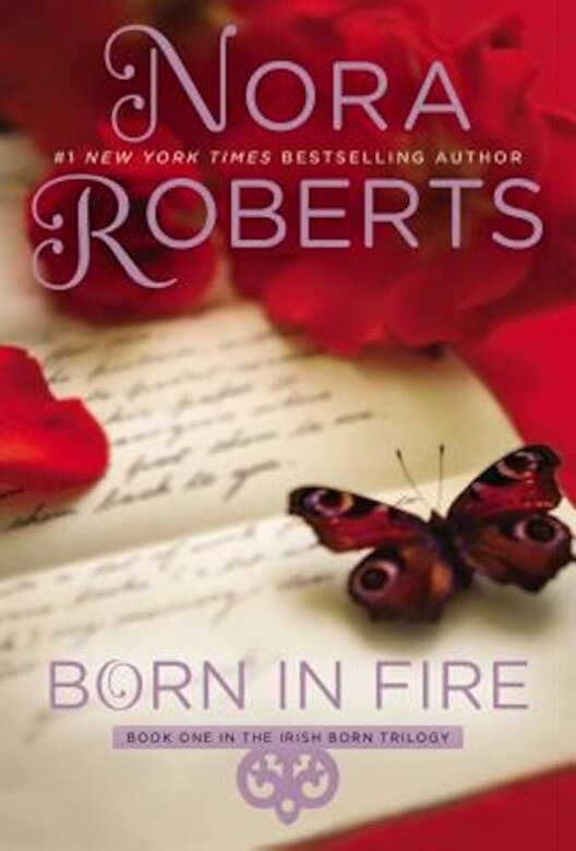 Nora Roberts - Born in Fire, Paperback -