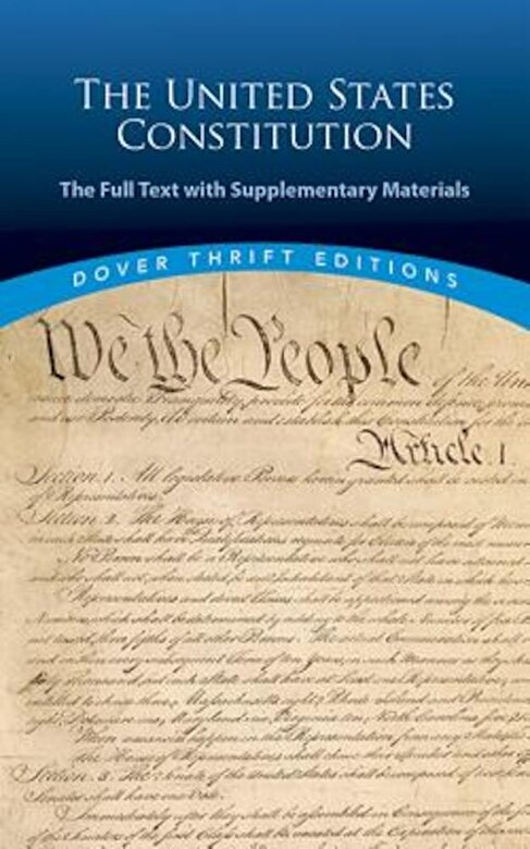 Bob Blaisdell - The United States Constitution: The Full Text with Supplementary Materials, Paperback -
