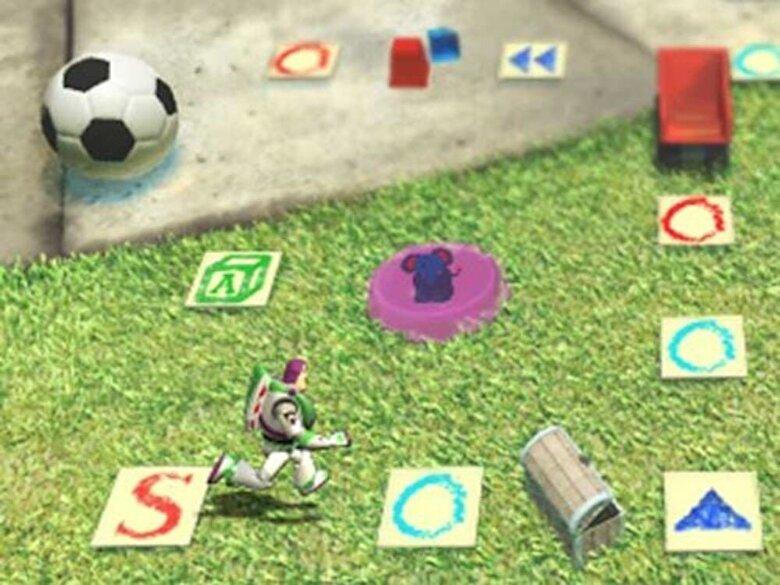 LeapFrog - Soft educational LeapPad - Toy Story 3 -