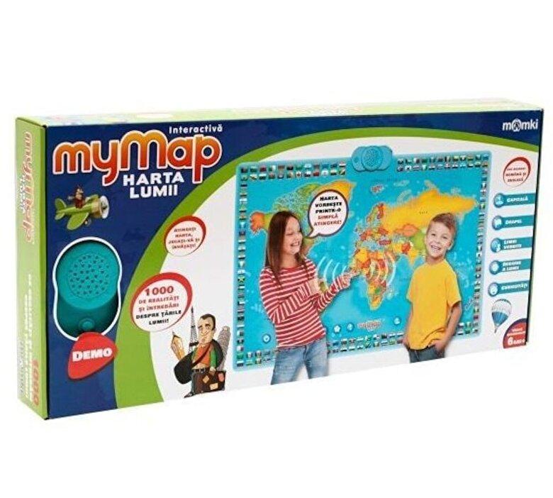 Momki - Harta interactiva a lumii, bilingva -