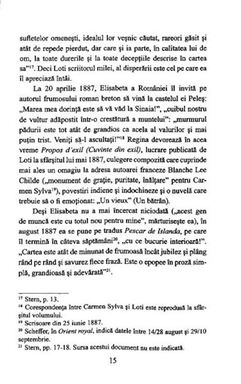 "Pierre Loti, Carmen Sylva - In jurul ""Exilatei"". La Sinaia, Bucuresti, Venetia -"