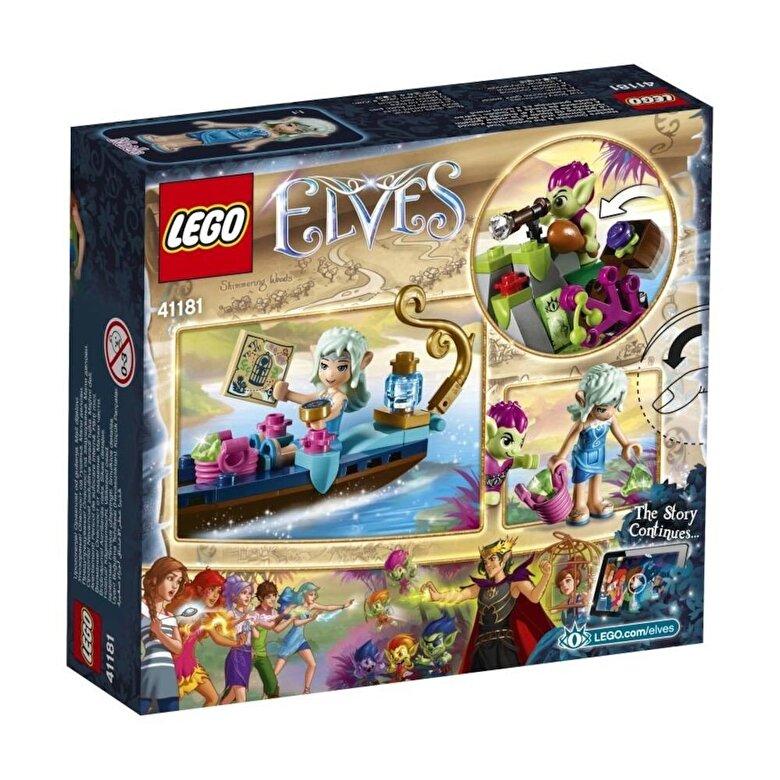 LEGO - LEGO Elves, Gondola Naidei si hotul spiridus 41181 -