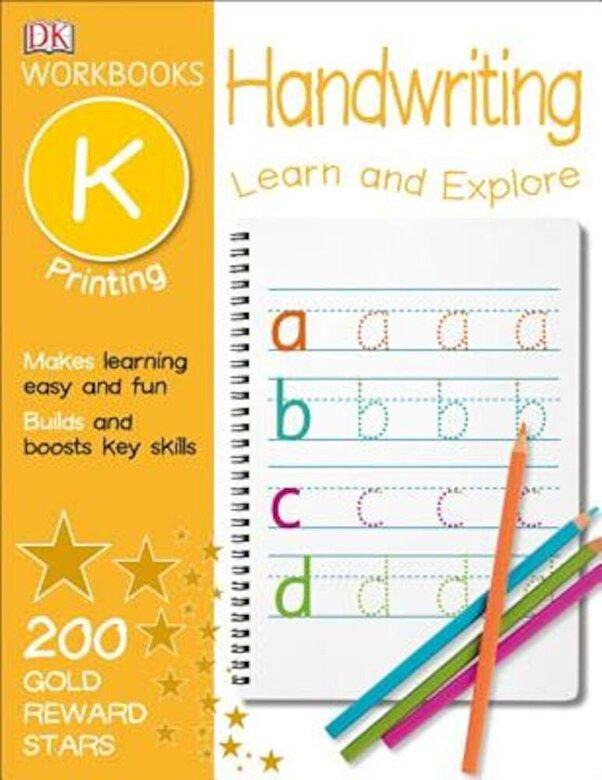 DK - DK Workbooks: Handwriting: Printing, Kindergarten, Paperback -
