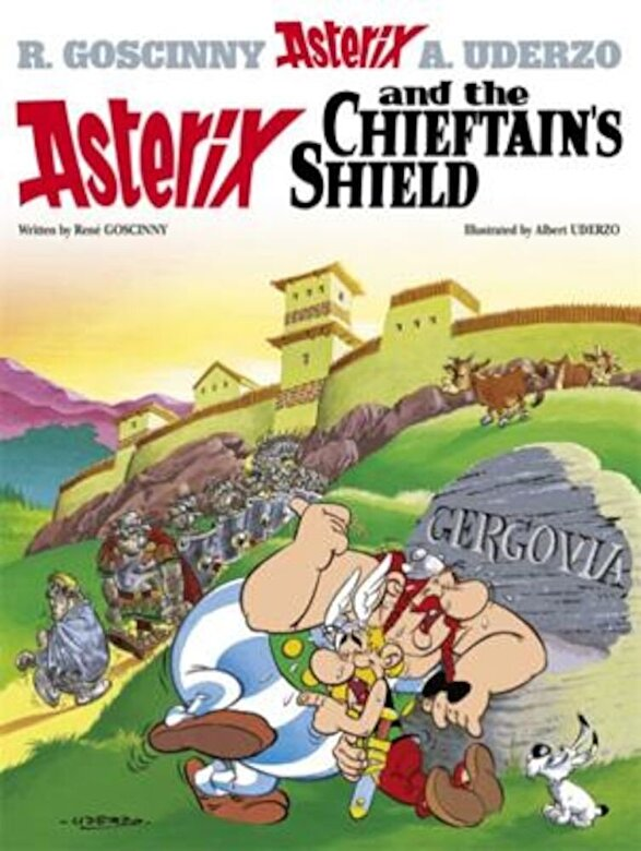 Rene Goscinny - Asterix and the Chieftain's Shield, Hardcover -