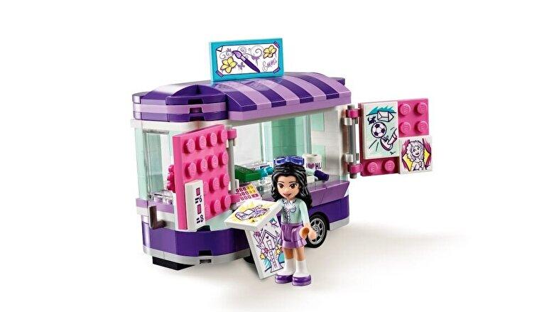 LEGO - LEGO Friends, Standul de arta al Emmei 41332 -