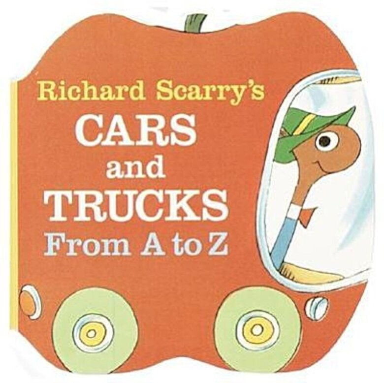 Richard Scarry - Richard Scarry's Cars and Trucks from A to Z, Hardcover -