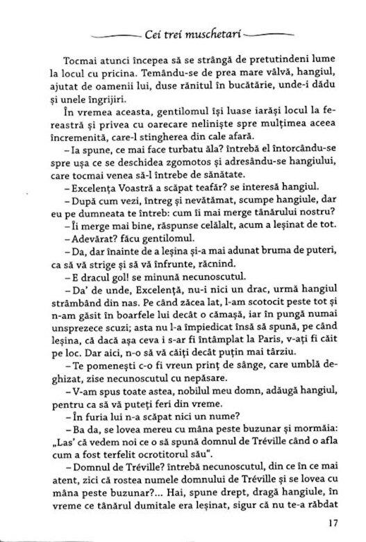 Alexandre Dumas - Cei trei muschetari, Vol. 1 -