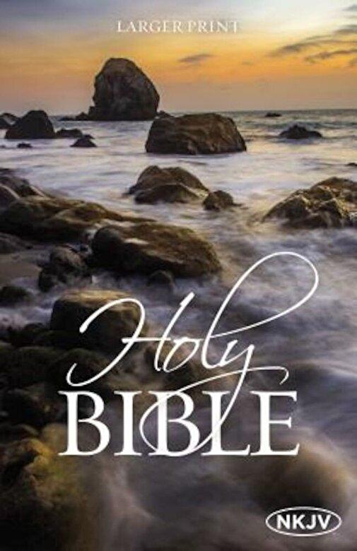 Thomas Nelson - Large Print Bible-NKJV, Paperback -