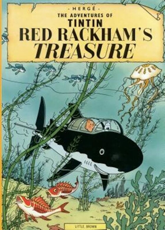 Herge - The Adventures of Tintin: Red Rackham's Treasure, Paperback -
