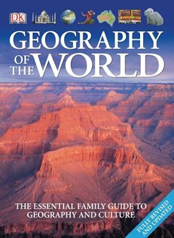 DK Publishing - Geography of the World, Paperback -