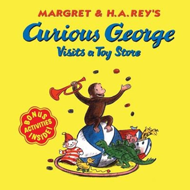 Alan J. Shalleck - Curious George Visits a Toy Store, Paperback -