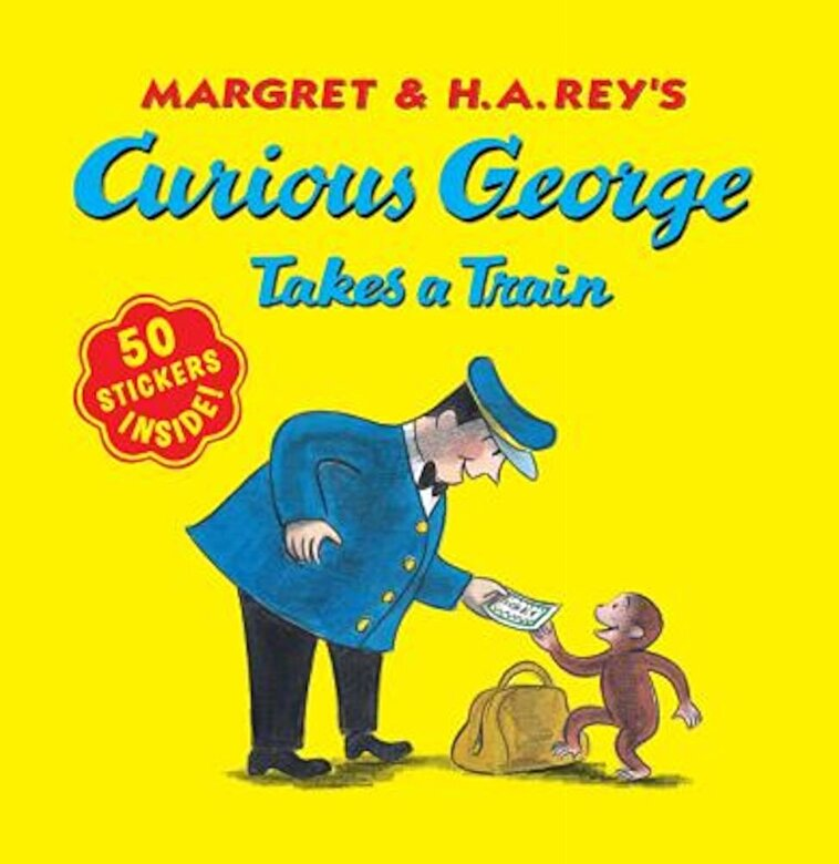 H. A. Rey - Curious George Takes a Train, Paperback -