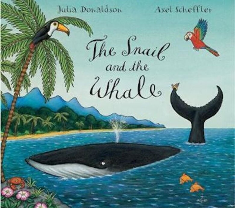 Julia Donaldson - Snail and the Whale Big Book, Paperback -