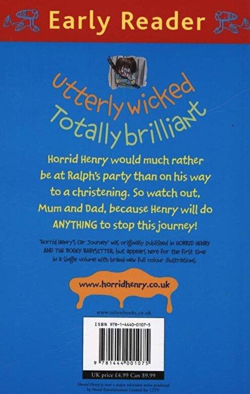 Francesca Simon - Horrid Henry Early Reader: Horrid Henry's Car Journey, Paperback -