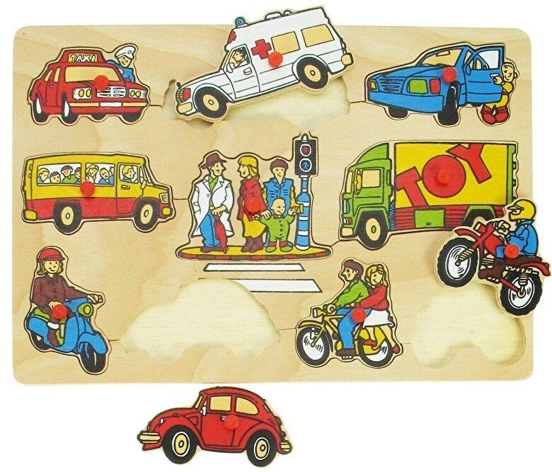 BigJigs - Puzzle Mijloace de transport -