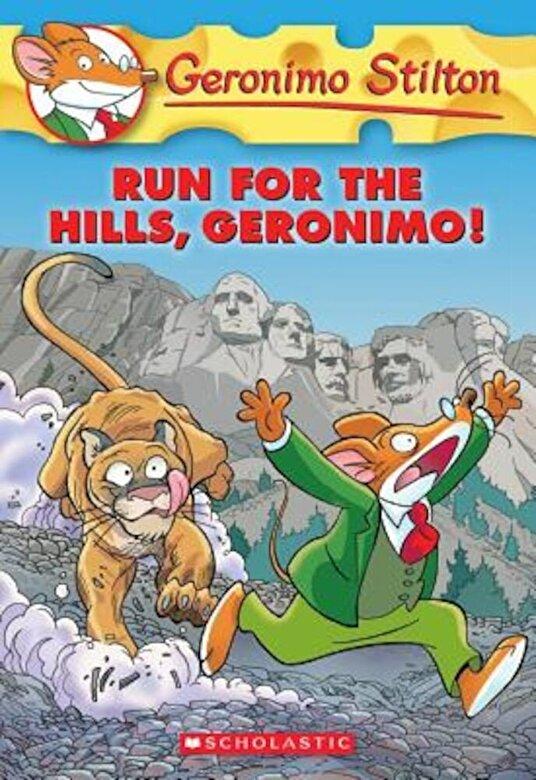 Geronimo Stilton - Run for the Hills, Geronimo!, Paperback -