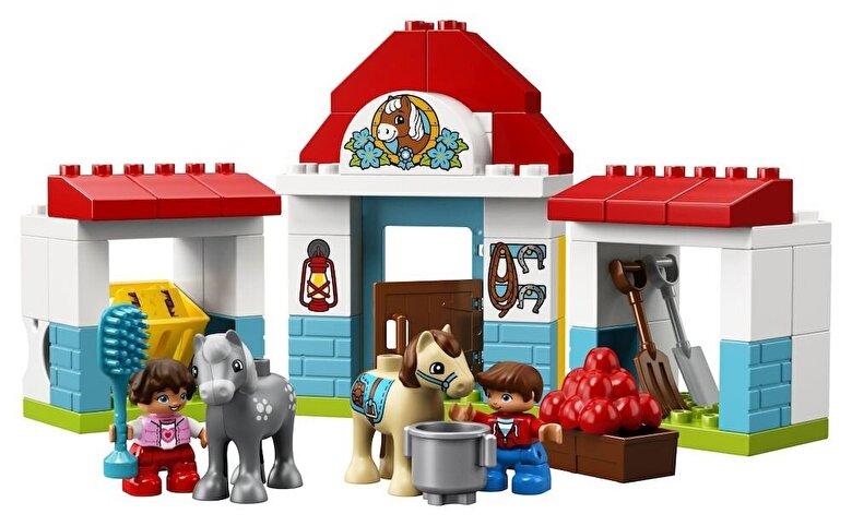LEGO - LEGO DUPLO, Grajdul poneilor 10868 -