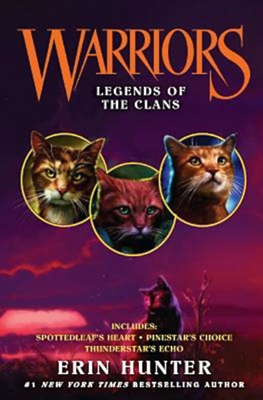 Erin Hunter - Legends of the Clans, Hardcover -