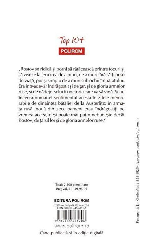 Lev Tolstoi - Razboi si pace. 2 vol (Top 10+) -