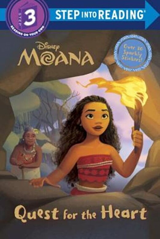 Rh Disney - Quest for the Heart (Disney Moana), Paperback -