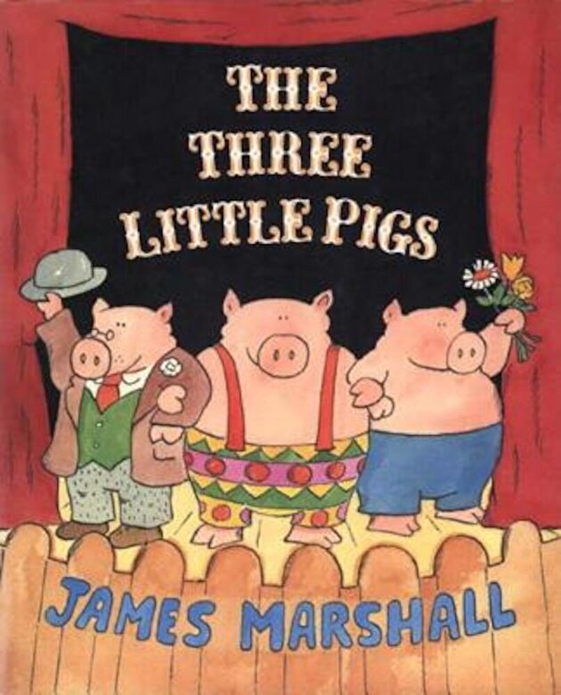 James Marshall - The Three Little Pigs, Paperback -
