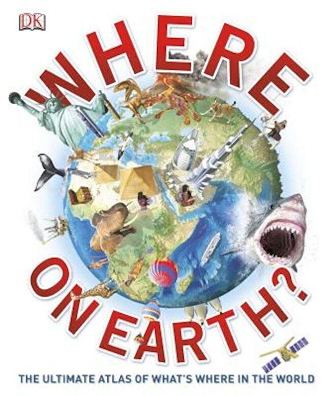DK - Where on Earth?, Hardcover -