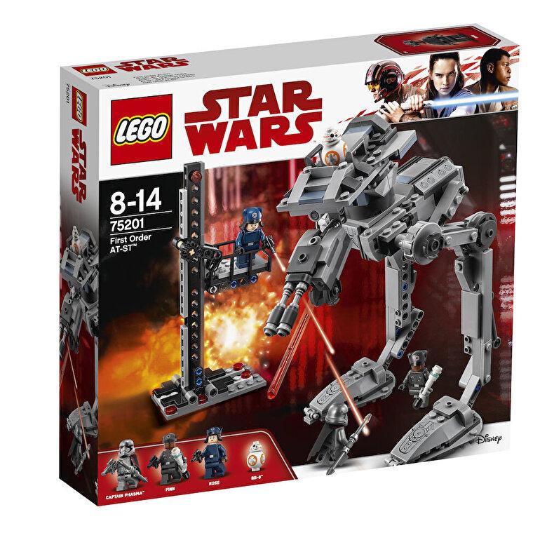 LEGO - LEGO Star Wars,  AT-ST Ordinul Intai 75201 -