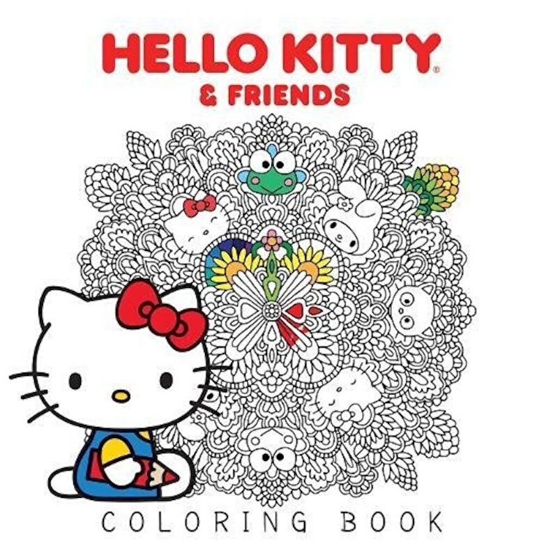 Various - Hello Kitty & Friends Coloring Book, Paperback -