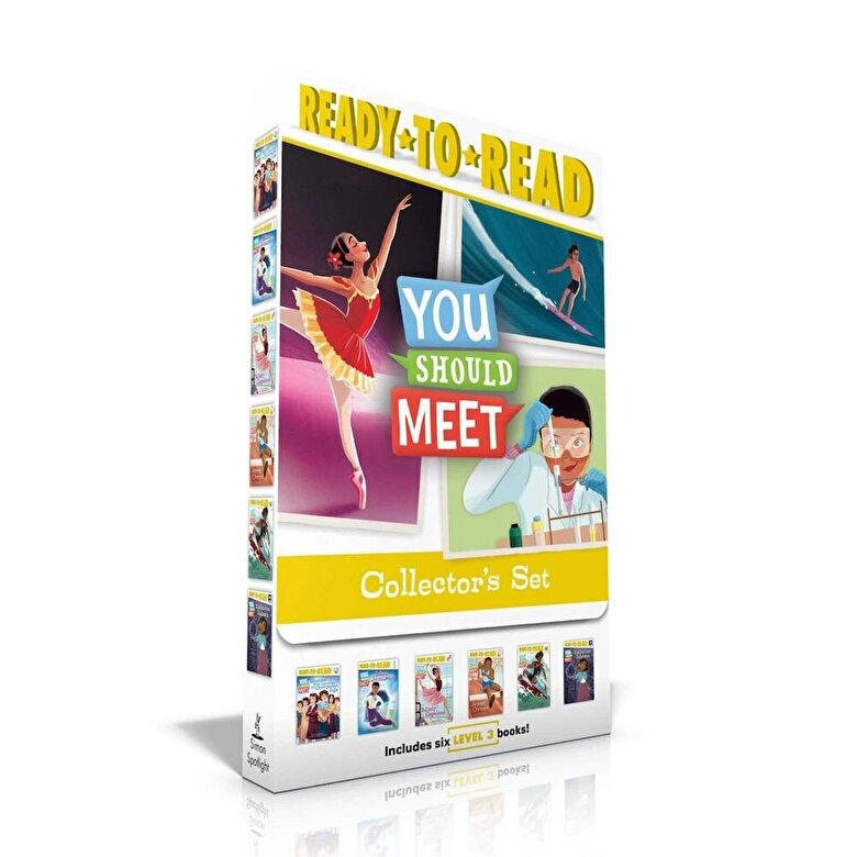 Various - You Should Meet Collector's Set: Women Who Launched the Computer Age; Mae Jemison; Misty Copeland; Jesse Owens; Duke Kahanamoku; Katherine Johnson, Paperback -