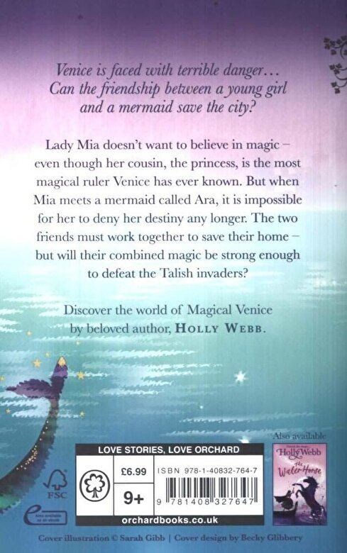 Holly Webb - A Magical Venice story: The Mermaid's Sister, Paperback -