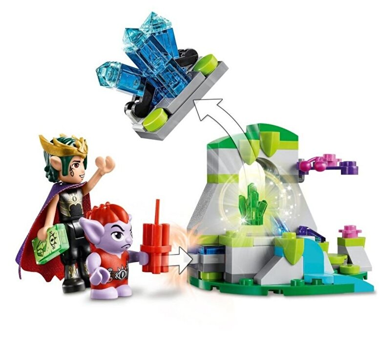 LEGO - LEGO Elves, Dragonul malefic al regelui Goblin 41183 -