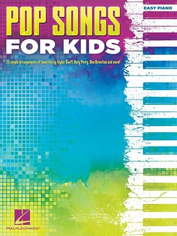 Hal Leonard Corp - Pop Songs for Kids, Paperback -