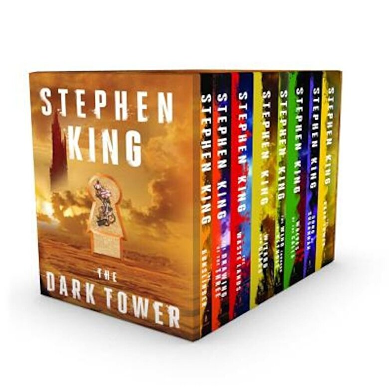 Stephen King - The Dark Tower 8-Book Boxed Set, Paperback -