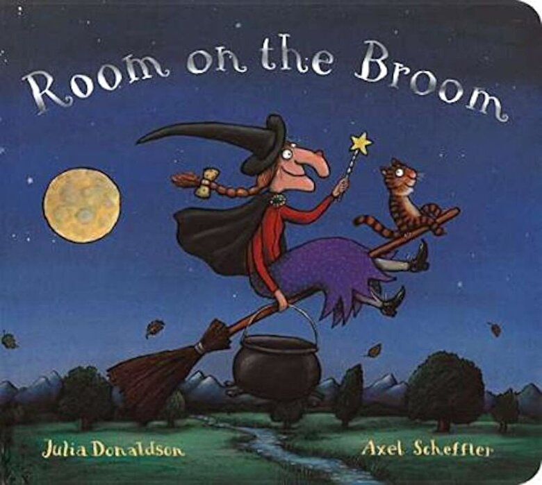 Julia Donaldson - Room on the Broom Board Book, Hardcover -