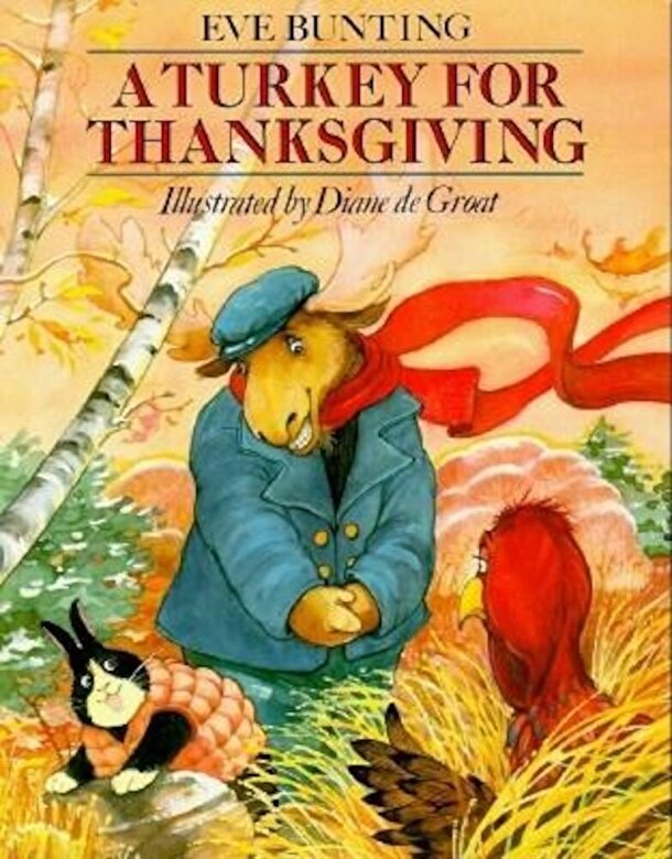 Eve Bunting - A Turkey for Thanksgiving, Paperback -