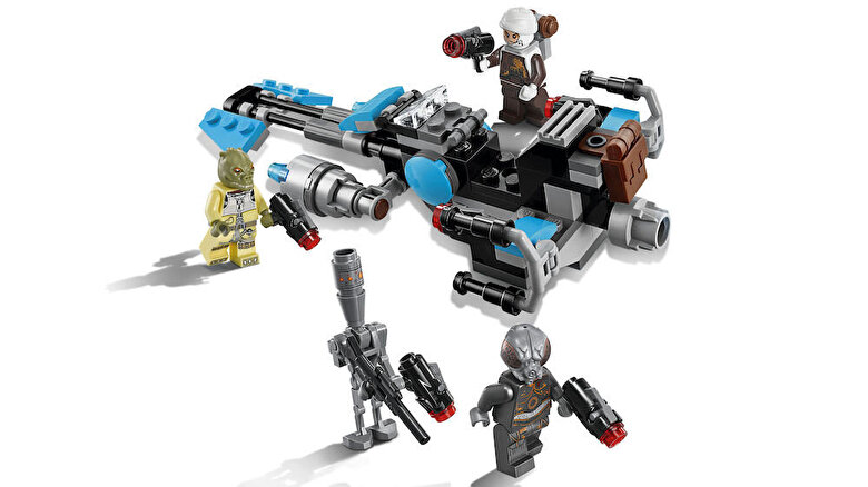 LEGO - LEGO Star Wars, Motocicleta de viteza Bounty Hunter 75167 -