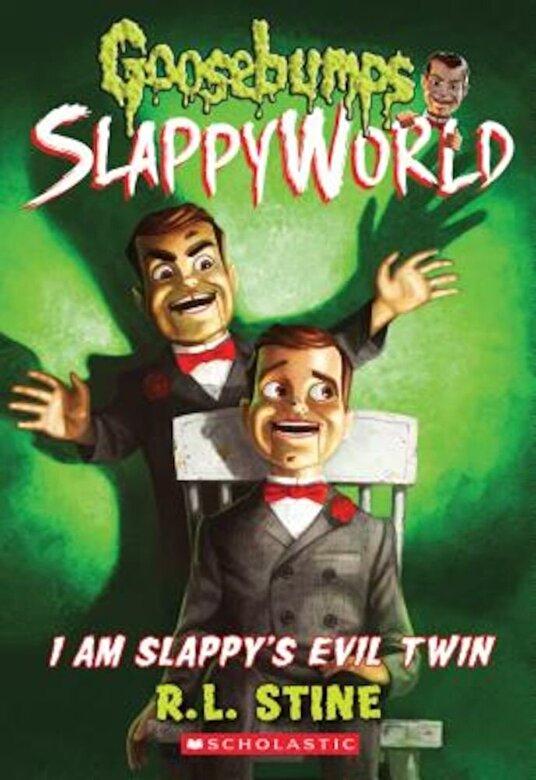 R. L. Stine - I Am Slappy's Evil Twin, Paperback -