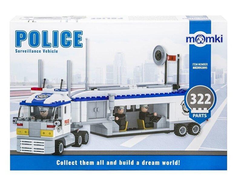 Momki - Momki - Politie, Vehicul de filaj, 322 piese -