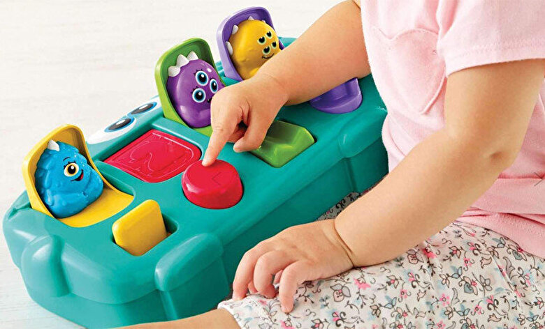 Fisher Price - Jucarie interactiva Monster Pop-up Surprise -